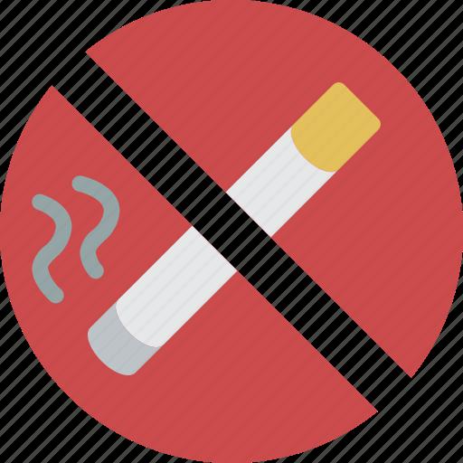 accommodation, hotel, no, service, service icon, services, smoking icon