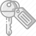 accommodation, hotel, key, room, service, service icon, services icon