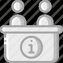 information, service, hotel, service icon, desk, services, accommodation