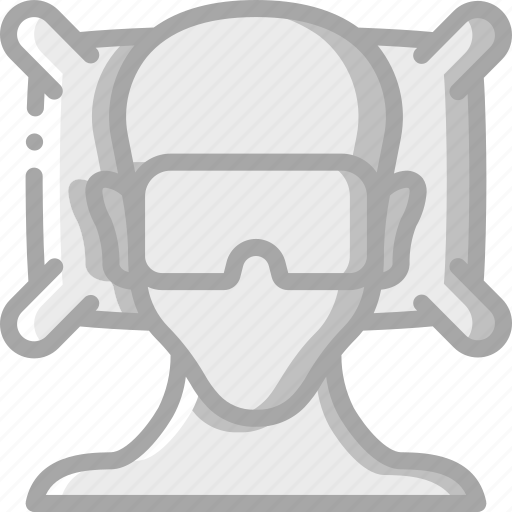 accommodation, hotel, person, service, service icon, services, sleeping icon
