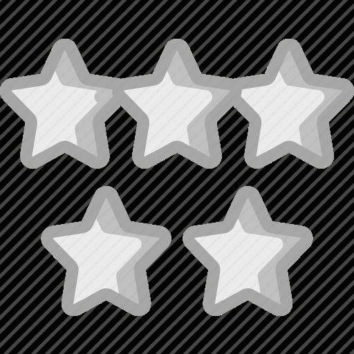 accommodation, five, hotel, service, service icon, services, stars icon