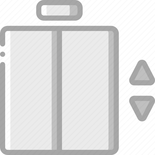 accommodation, elevator, hotel, service, service icon, services icon