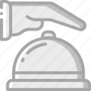 accommodation, bell, hotel, ring, service, service icon, services icon