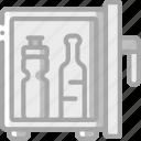 mini, service, hotel, fridge, service icon, services, accommodation