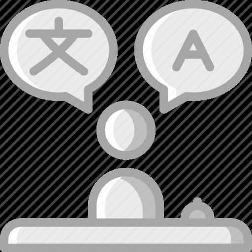 accommodation, bi, hotel, lingual, service icon, services, staff icon