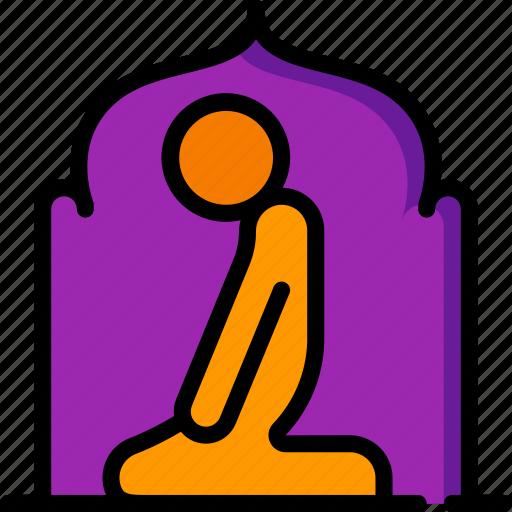 accommodation, hotel, prayer, room, service, service icon, services icon