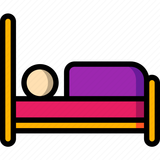accommodation, bed, hotel, service, service icon, services icon