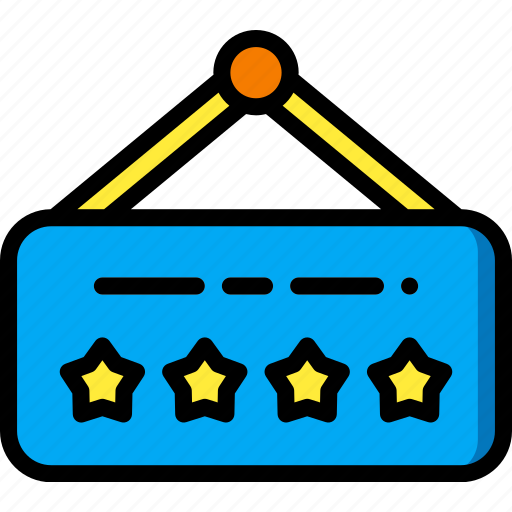 accommodation, five, hotel, service, service icon, services, sign, star icon