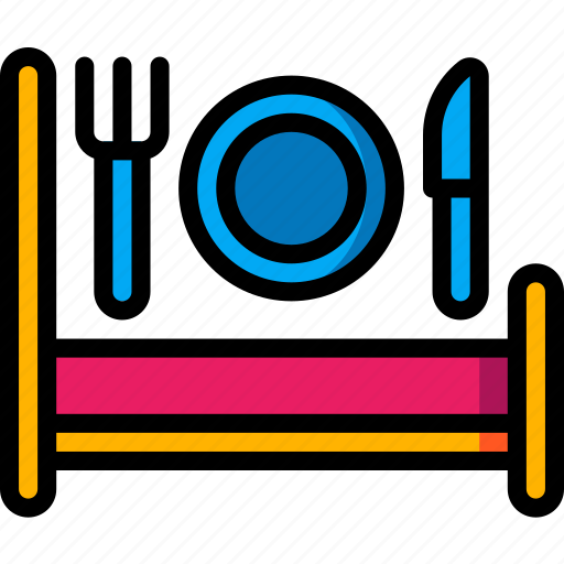 accommodation, bed, breakfast, hotel, service, service icon, services icon