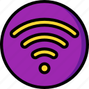 accommodation, hotel, service, service icon, services, wifi icon