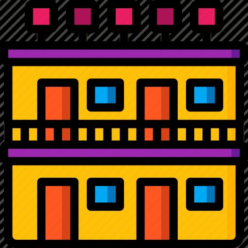 accommodation, hotel, motel, service, service icon, services icon