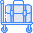 trolley, service, luggage, hotel, service icon, services, accommodation