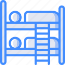 service, bunk, hotel, bed, service icon, services, accommodation