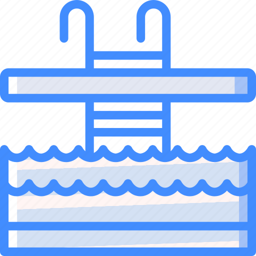accommodation, hotel, pool, service, service icon, services, swimming icon