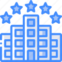 star, hotel, service icon, five, services, accommodation