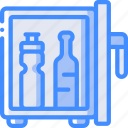 accommodation, fridge, hotel, mini, service, service icon, services icon