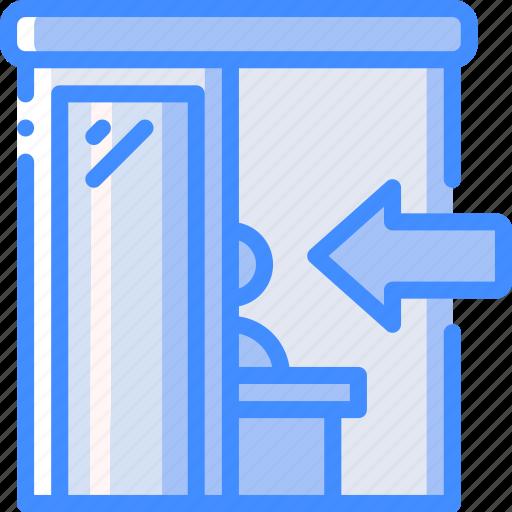 accommodation, check, hotel, in, service, service icon, services icon