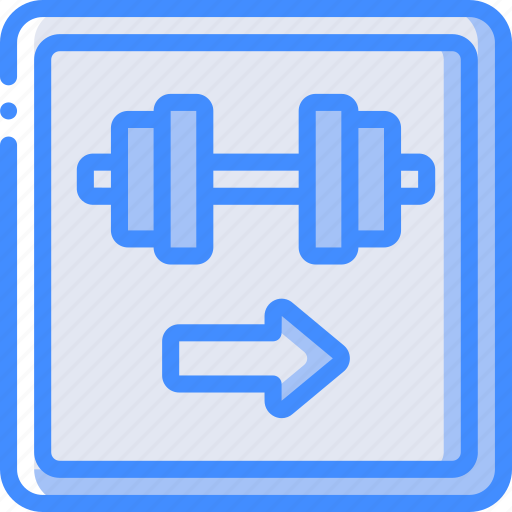 Service, gym, hotel, service icon, services, accommodation icon