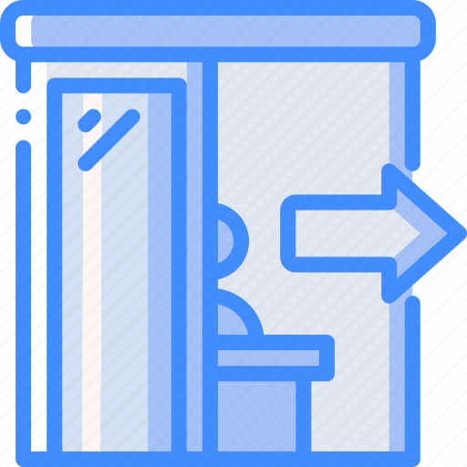accommodation, check, hotel, out, service, service icon, services icon