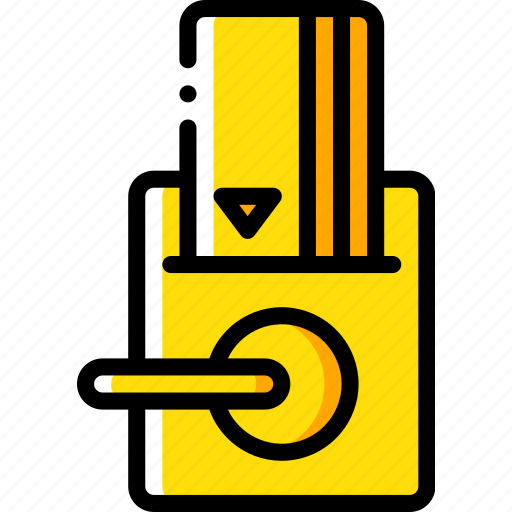accommodation, card, hotel, key, service, service icon, services icon
