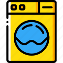 accommodation, hotel, machine, service, service icon, services, washing icon
