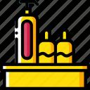 condiments, service, hotel, service icon, services, accommodation