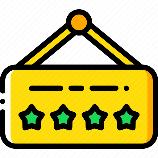 accommodation, five, hotel, service icon, services, sign, star icon