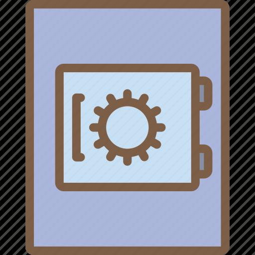 accommodation, hotel, safe, service, service icon, services icon