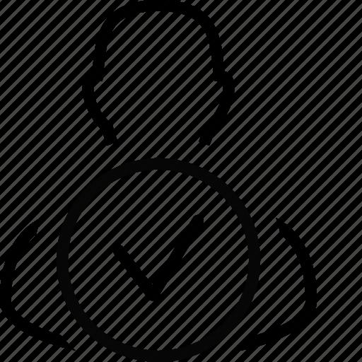 account, marked, marker, person, pin, profile, user icon