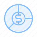 accounting, economy, fund icon