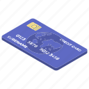 atm card, bank card, credit card, digital money, smart card icon