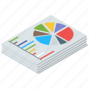 analytics, business monitoring, data analytics, infographic, statistics icon