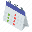 calendar, datebook, event, meeting, schedule, yearbook icon