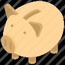 dollar keeping, money savings, piggy bank, piggy bank loan, piggy money box