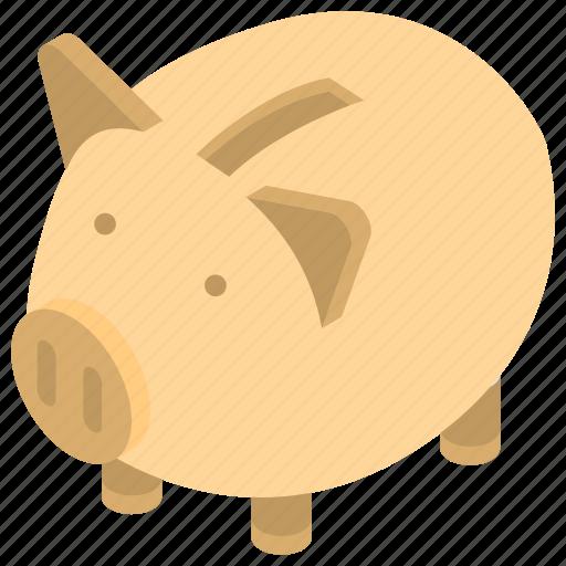 dollar keeping, money savings, piggy bank, piggy bank loan, piggy money box icon