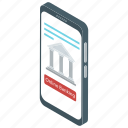 bank phone service, banking app, banking software, ecommerce, mobile banking, online banking icon