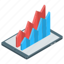 analytics, area chart, business chart, statistics, zone chart icon