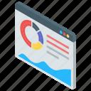 business monitoring, business website, infographic, online analytics, statistics icon