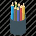 color box, office supplies, pencil box, pencil case, stationary