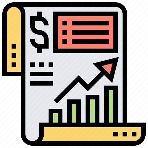 Assessment, financial, income, profit, statement icon - Download on Iconfinder