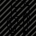 document, idea, pencil icon