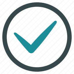 accept, approve, check, confirm, ok, tick, yes icon
