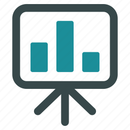 conference, display, monitor, powerpoint, presentation screen, projection, report icon