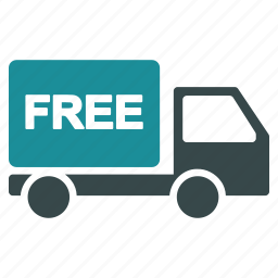car, delivery, free, gift, logistics, shipping, transport icon