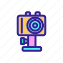 action, camera, contour, digital, equipment
