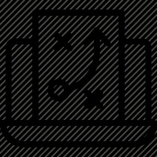 business plan, contextual marketing, marketing, programming, tactics icon
