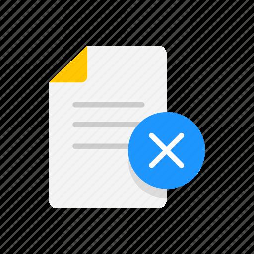 delete, delete sheet, note, remove note icon