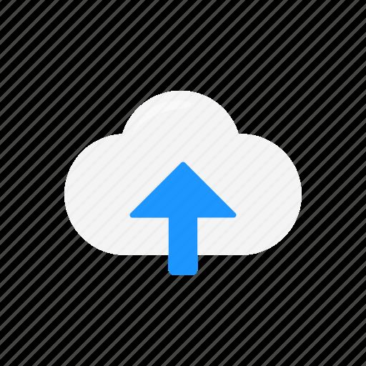 arrow up, cloud, icloud, upload icon