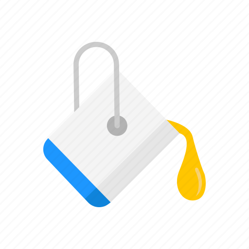 bucket, color, paint bucket, yellow paint icon