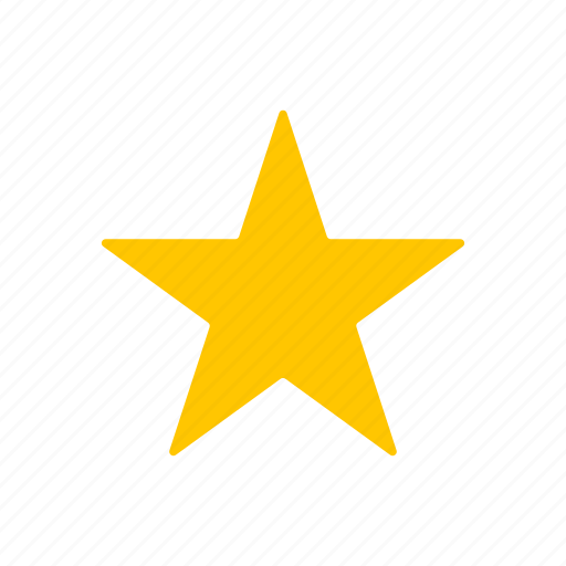 Shape, star, top, best icon